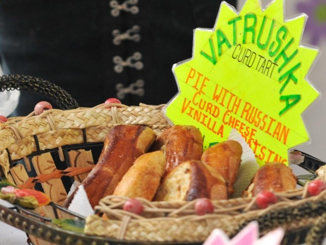 russian pasteries, canterbury market