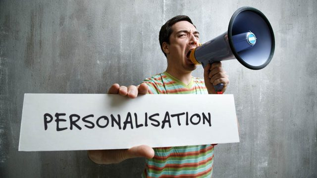 digital personalisation