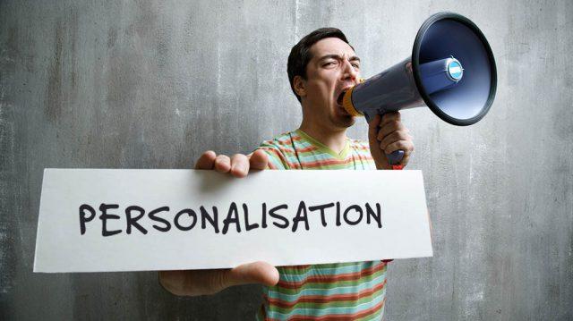 digital personalisation